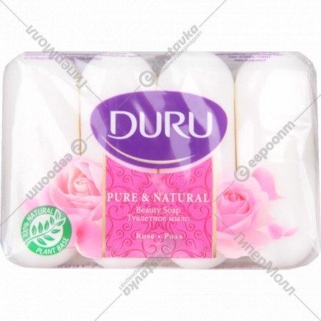 Мыло «Duru» роза, 4х85 г.