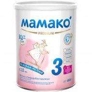 Молочко с бифидобактериями «Mamako 3» Premium 400 г.