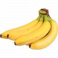 Банан свежий, 1 кг., фасовка 0.9-1.2 кг