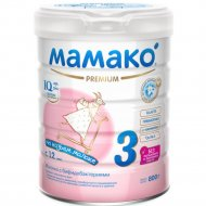 Молочко с бифидобактериями «Mamako 3» Premium 800 г.