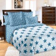Комплект постельного белья «Моё бельё» Орион 4, бирюза, Евро