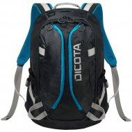 Рюкзак «Dicota» D31047, black-blue
