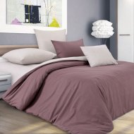 Комплект постельного белья «Моё бельё» Шоколадный крем 1, полуторный