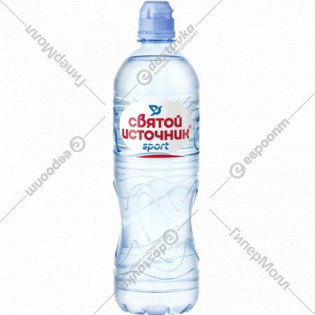 Вода питьевая «Святой источник» негазированная, 0.75 л.
