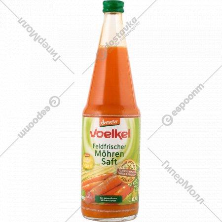 Сок морковно-лимонный «Voelkel» прямого отжима, 700 мл