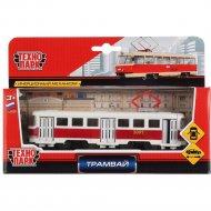 Игрушечный транспорт «Трамвай» SB-16-66-OR-WB