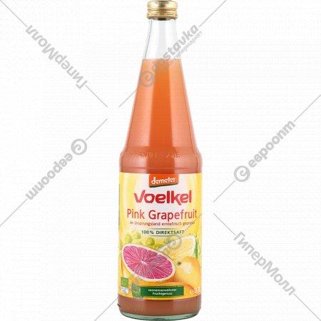 Сок грейпфрутовый «Voelkel» прямого отжима, 700 мл