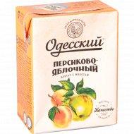 Нектар с мякотью «Одесский» персиково-яблочный 0.2 л.