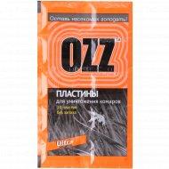 Пластины «Оzz» для уничтожения комаров 10 шт