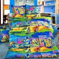 Комплект постельного белья «Моё бельё» Граффити 2, полуторный