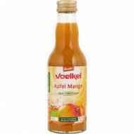 Сок яблочно-манговый «Voelkel» пастеризованный, 200 мл.