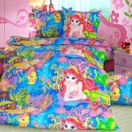 Комплект постельного белья «Моё бельё» Морская сказка 2, полуторный