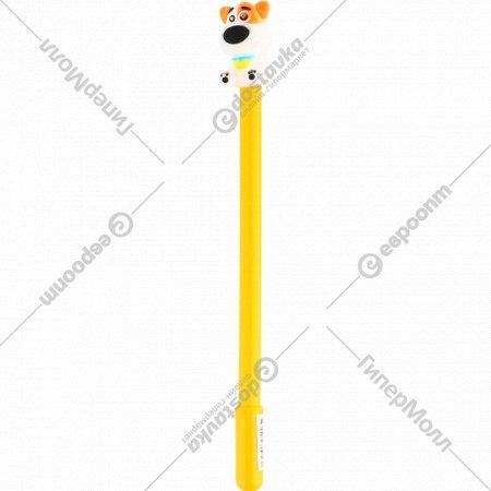 Ручка гелевая «Зверушки» синяя, ZF1720.