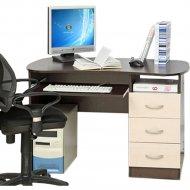 Письменный стол «Олмеко» венге/дуб молочный