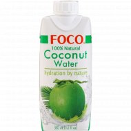 Кокосовая вода «Foco» 330 мл.