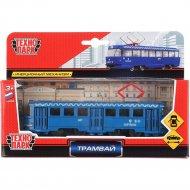 Игрушечный транспорт «Трамвай» SB-16-66-BL-WB