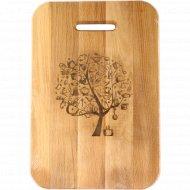 Доска разделочная «Чудо-дерево» 35х24х2 см.
