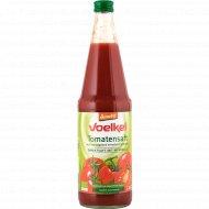 Сок томатный с мякотью «Voelkel» с солью, прямого отжима, 700 мл