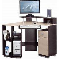 Компьютерный стол «Олмеко» Костер - 7, клен азия