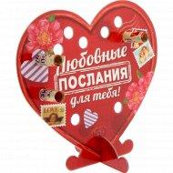Открытка «Любовные послания для тебя» со свитками, 18х16 см, 10991253.