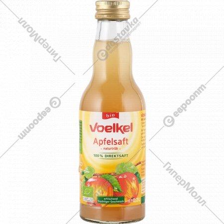 Сок яблочный «Voelkel» прямого отжима, 200 мл