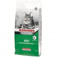 Корм сухой «Morando» для котов, мясное ассорти и курица, 15 кг.