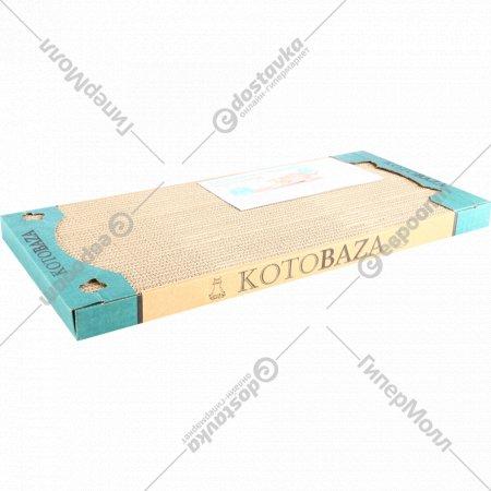 Когтеточка «Kotobaza» односторонняя, 50x23x3.5 см.