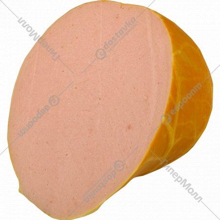Колбаса вареная «Мортаделла новая» высшего сорта, 1 кг., фасовка 0.4-0.6 кг