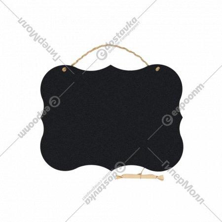 Меловая грифельная доска «Шильда» 35x26x0.3 см.