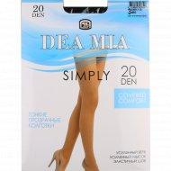 Колготки женские «Dea Mia» Simply, 20 Den, Nero.