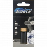 Освежитель воздуха «Supercar» бутылочка, черный лед, 6 мл.