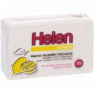 Мыло хозяйственное отбеливающее «Helen» лимон, 72%, 200 г.