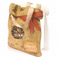 Пакет для подарков «Я твой сюрприз» 10320979, 17x20x6 см.