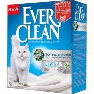 Наполнитель комкующийся «Ever Clean» Total Cover, 10 л.