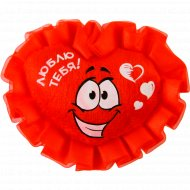 Фигурка текстильная на магните «Сердце.Люблю тебя» 10799517, 5.5х7 см.