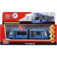 Игрушечный транспорт «Трамвай с гармошкой»