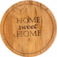 Доска разделочная «Home sweet Home» 30х21х2 см.