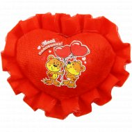 Фигурка текстильная «Сердце.Моей половинке» 10799514, 5.5х7 см.