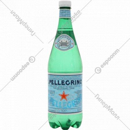 Вода минеральная «San Pellegrino» газированная, 1 л.