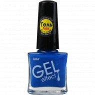 Лак для ногтей «Kiki» Gel Effect тон 005, 6 мл.