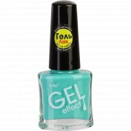 Лак для ногтей «Kiki» gel effect, тон 65, 6 мл.