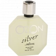 Парфюмерная вода «Ozon Silver» для мужчин, 85 мл.