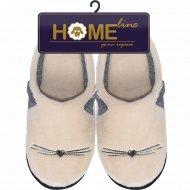 Туфли домашние женские, 05Т-502, размер 39-40.