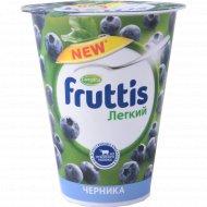 Продукт йогуртный «Fruttis» легкий, c черникой 0.1 %, 310 г.