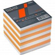 Блок для заметок «Hatber» цветной, 9х9 см.