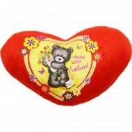 Фигурка текстильная «Тому, кого люблю» 10799524, 9х10.5 см.