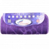 Набор ковриков для ванны «Shahintex» 50х80+50х50 см, фиолетовый.
