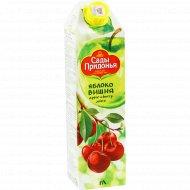 Сок «Сады Придонья» яблочно-вишневый, 1 л.
