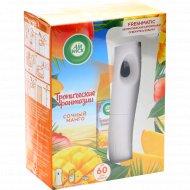 Автоматический аэрозольный освежитель воздуха «Air wick» очный манго, 250 мл.