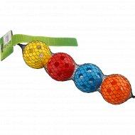 Набор игрушек для собаки «Мячи» 4 шт.